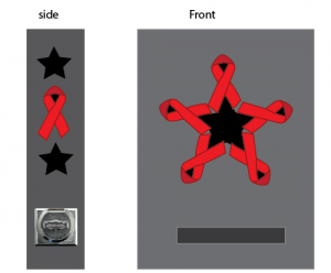 ribbon star idea
