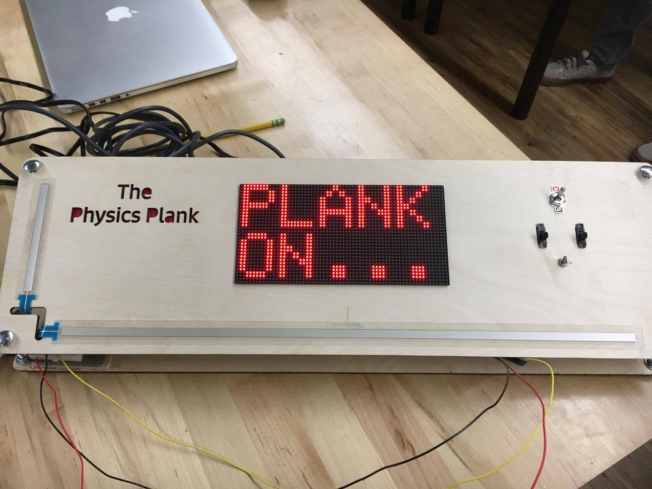 The Physics Plank