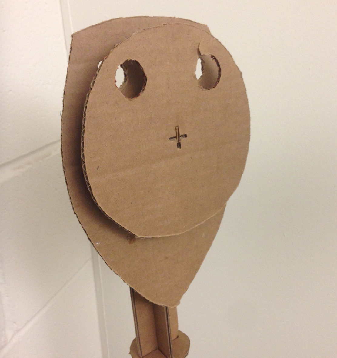 Initial mock-ups of the ObservaStory were made using cardboard.